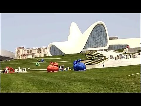 Bakı, Heydər Əliyev Mərkəzi - Baku, Heydar Aliyev Center