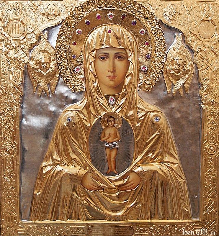 Крестный ход с Албазинской иконой