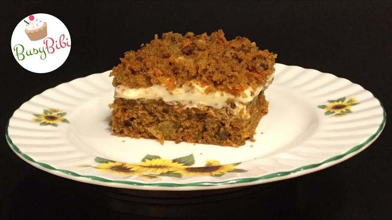 Amber Carrot Cake ✧ Торт Янтарный | Морковный Торт по-Техасски (Ep.27)