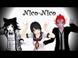 MMD Nico-Nico-Nii! BEATSTEP REMIX - GENTLEMAN