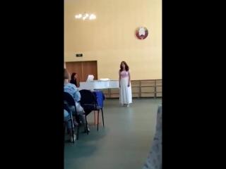 Инесса вокал экзамен