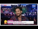 Адам Ламберт на Good Morning Britain 19/09/2018 hd 1080