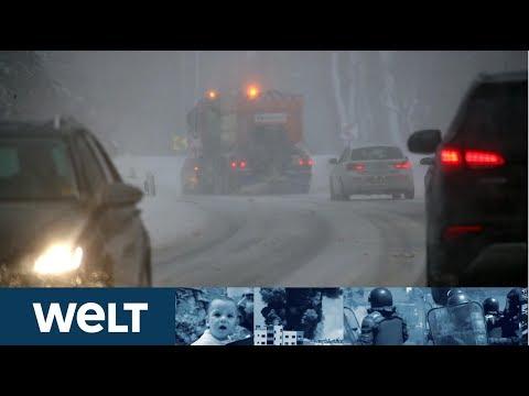 BAYERN UND ÖSTERREICH Eine weitere Woche mit heftigen Schneefällen erwartet