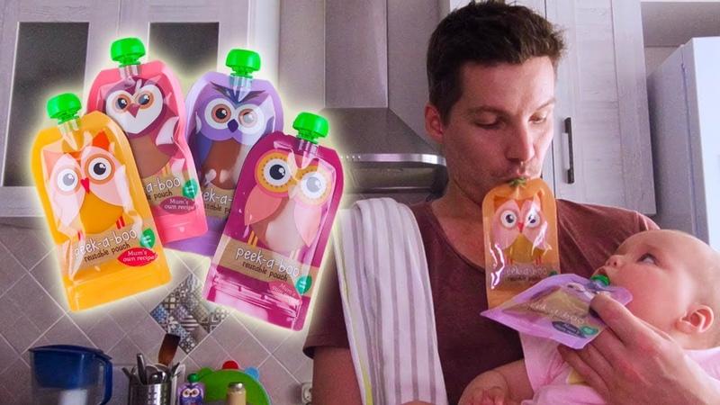 Приключения Папы на кухне чем кормить малыша Видео про детское питание