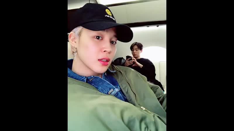 190215 BTS Update a Video before the private flight take off to Fukuoka Japan