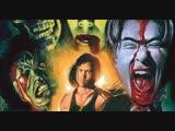 (SUB RUS)Bloody Muscle Body Builder in Hell / The Japanese Evil Dead (2012) dir. Shinichi Fukazawa