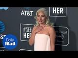 Леди Гага на ковровой дорожке премии Critics Choice Awards 2019 (13 января)