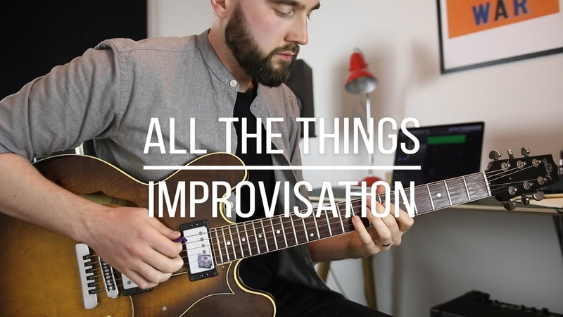 'All The Things You Are' Solo Transcription