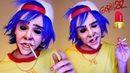GORILLAZ - 2D Makeup Tutorial | DanielzROTFL