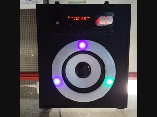 Портативная акустика FM USB/SD Bluetooth