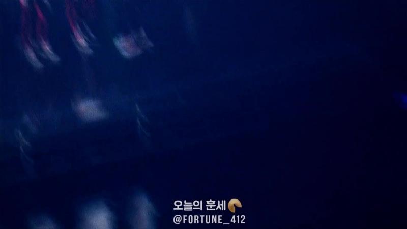 180713 Elyxion dot in SEOUL - EXO ENDING MENT ( 우리의 청춘, 시대는 엑소라 부른다♥)
