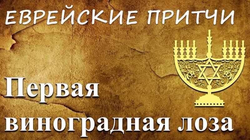 Еврейские притчи - Первая виноградная лоза
