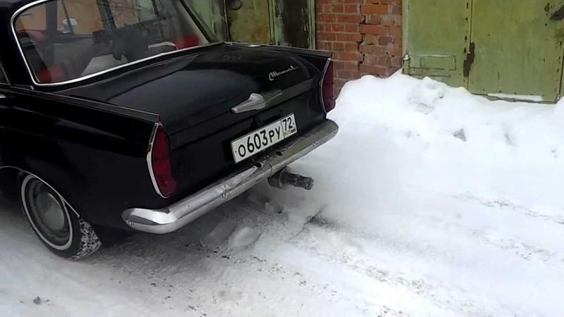 глушитель-пулемёт на 408 москвиче