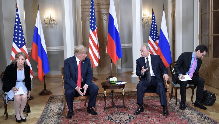 Вести.Ru С глазу на глаз Путин и Трамп общались, не обращая внимания на время