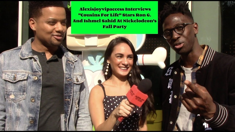 Cousins For Life Stars Ron G And Ishmel Sahid Interview With Alexisjoyvipaccess