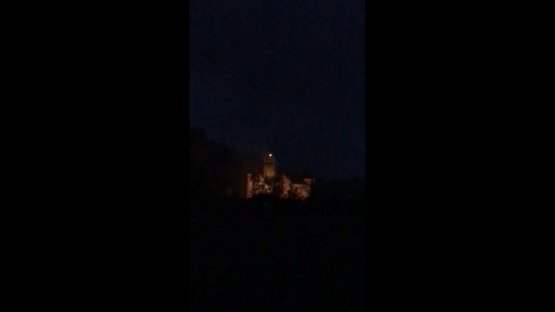 We are alive again! Night is here Transylvania ! View from Ordo Dracul hotel