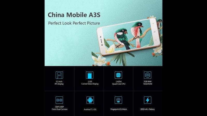 China mobile A3S - Xiaomi 4a?