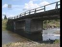 Рушится мост в Танзыбее (Енисей Минусинск)