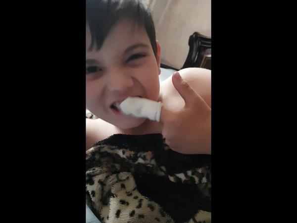 Laska спонж для чистки зубов