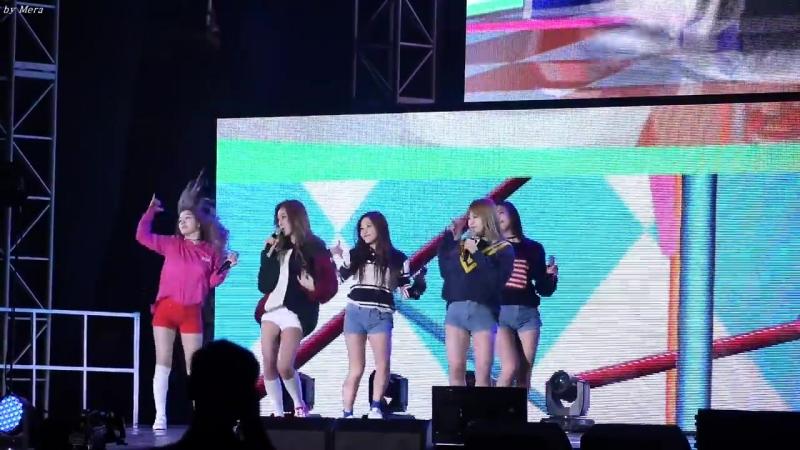 151004 Red Velvet – Dumb Dumb @ Gangnam K-pop Festival Fancam