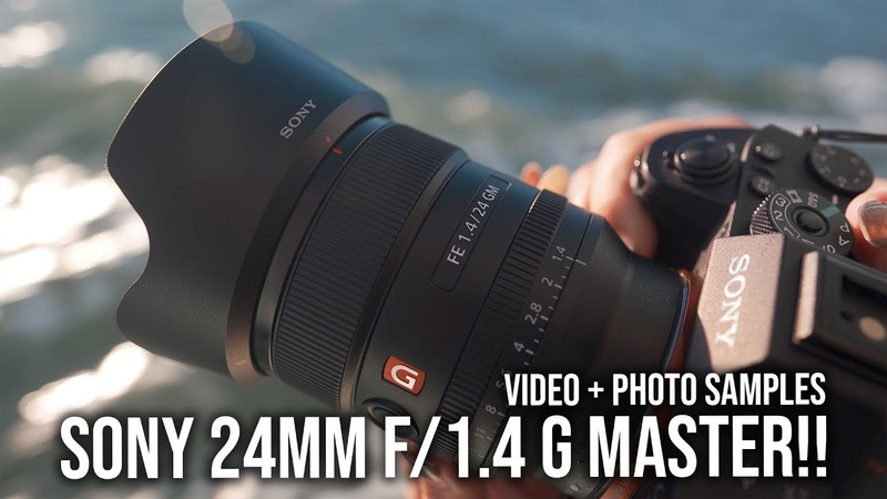Sony 24mm f/1.4 G Master Test Footage Sample Photos! - For a7III a7RIII a9 a7SII a6500 a6000