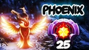 Crazy LVL 25 Phoenix Hero Spammer - Dagon E-Blade Combo Item Build - Dota 2 Gameplay Compilation