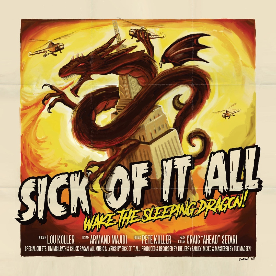 Sick of It All - Wake the Sleeping Dragon [Single] (2018)