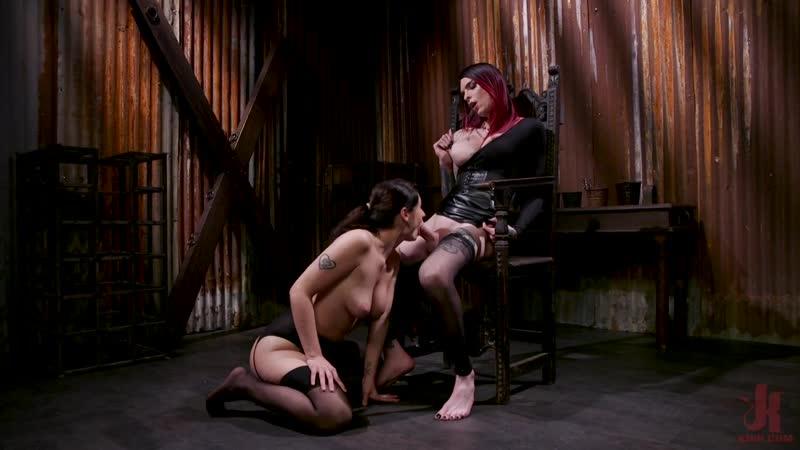 Chelsea Marie, Violet Monroe Caged Heat: Chelsea Marie Uses Up Her Caged Sex Slave Violet