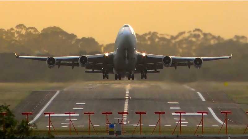 STUNNING Early Morning Heavy Aircraft Takeoffs From CLOSE-UP | Melbourne Airport Plane Spotting