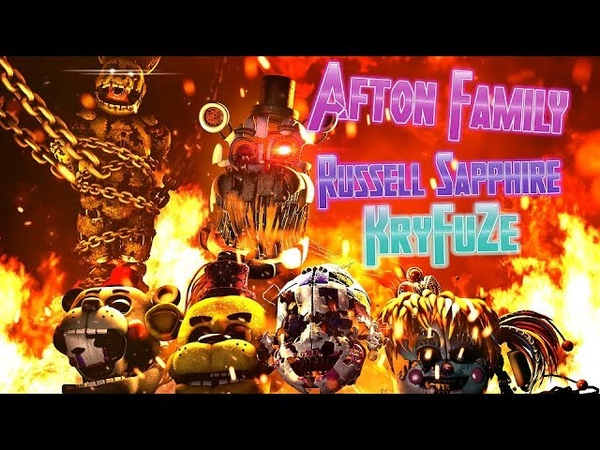 SFMFNAF| The Destroyed Happiness | Afton Family - KryFuZe (Remix by Russell Sapphire)
