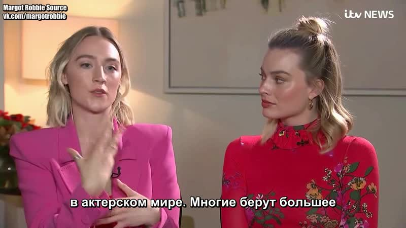 «Две королевы»: Марго Робби и Сирша Ронан для ITV News (Русские субтитры) 2018