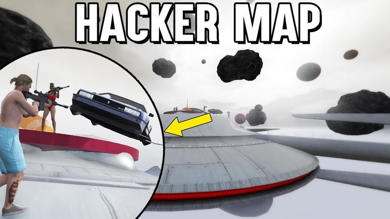 Ein HACKER hat diese MAP gebaut 😱 GTA 5 Flug Auto vs Sniper
