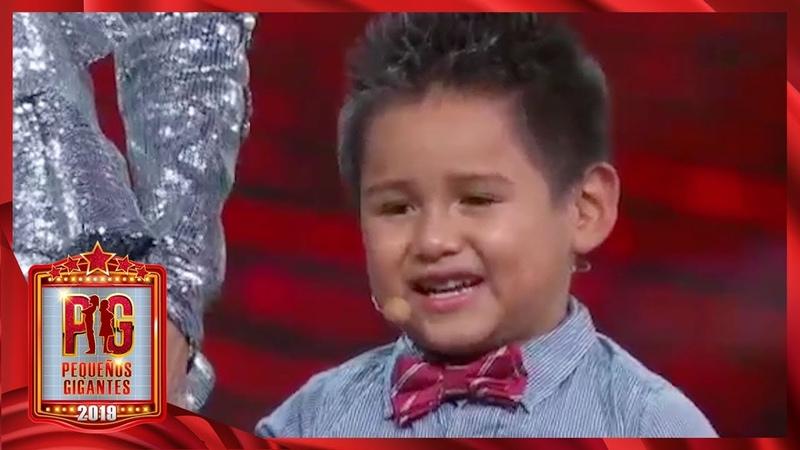 Giovani quiere que sus papás estén juntos ¡le escribió su deseo a Santa! | Pequeños Gigantes 2019