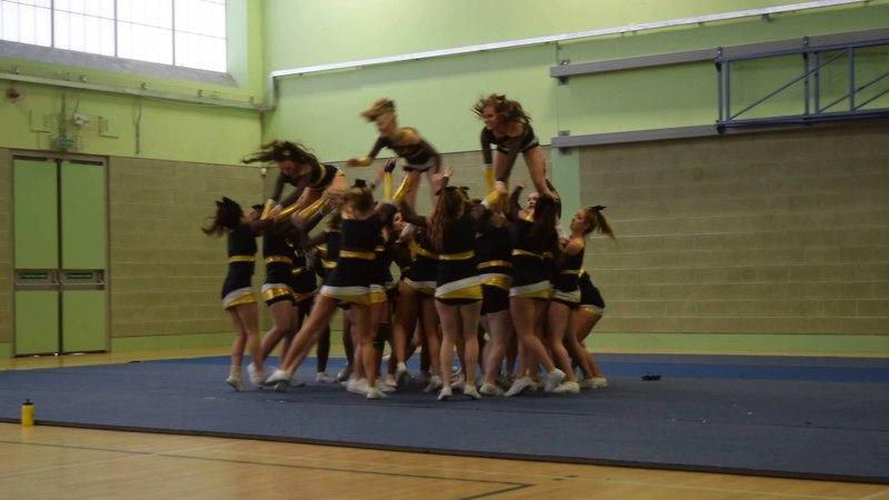 Glasgow University Cheerleading at QMU Showcase