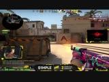 S1mple- Невероятная стрельба с ак-47