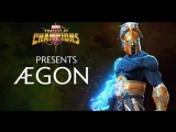 Новый герой Ægon в игре MARVEL: Битва чемпионов!