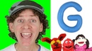 Letter G | Today's Letter Song with Matt and Friends | Preschool, Kindergarten, Learn English