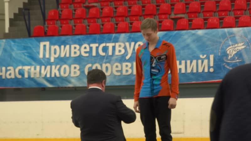 00041.Егор Мурашов, награждение. 25.04.19