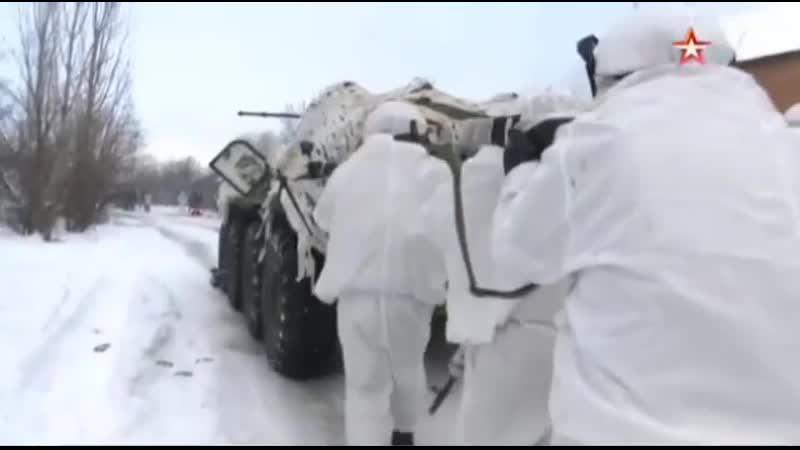 Военнослужащие инженерно штурмового подразделения под Ростовом отработали ведение боя в условиях города