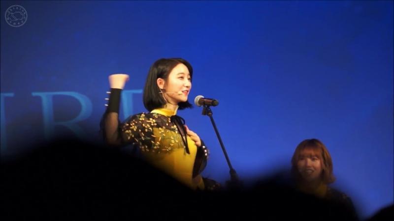 · Fancam · 180602 · OH MY GIRL (Binnie Focus) - Play Game № 1 - Pick Me (PRODUCE 101 Season 2) · 1st Fan Concert In Taipei ·