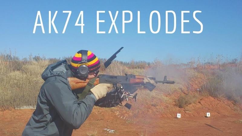 Century Arms AK-74 Blows Up!