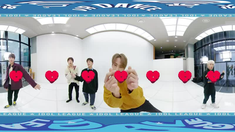[190117] Idol leagaue [IDOL 360] HOTSHOT I Hate you (360 vr cam)