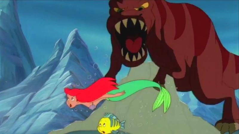 Русалочка - Сезон 3 Сезон 4 - Остров юрского периода | Мультфильм Disney про динозавров