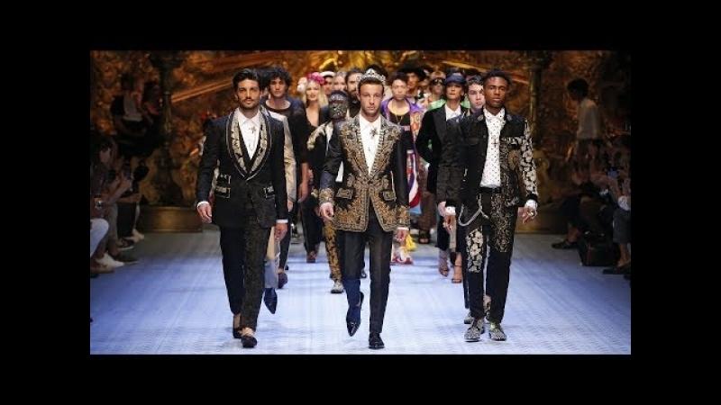 DolceGabbana Spring Summer 2019 Mens Fashion Show