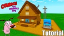Minecraft Tutorial: How To Make Courage The Cowardly Dogs House Courage The Cowardly Dog