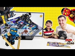 Папа дома • папа роб ярик и #бэтмен играют в 3d каталог #lego!