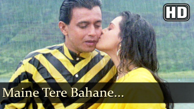 Maine Tere Bahane (HD) - Swarg Yahan Narak Yahan Songs - Mithun Chakraborty - Shilpa Shirodkar