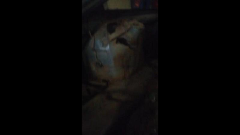 производим демонтаж внутренних арок ваз 2112 купе