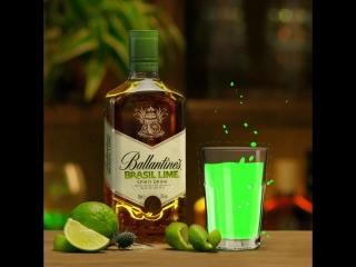 Ballantines Brasil Lime. Материал содержит рекламу алкоголя и запрещен к просмотру лицами, не достигшими 18 лет