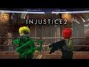 Lego Injustice 2 Green Arrow vs Red Hood Лего Инджастис 2 Зелёная Стрела против Красного Колпака